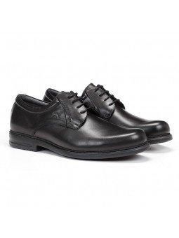 zapato caballero Fluchos, color negro, cordones, modelo 8466, de piel, vista portada