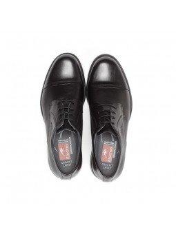 zapato caballero Fluchos, color negro, cordones, modelo 8468, de piel, vista superior