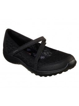 Comprar Mercedita Skechers Be Light Eyes On Me, modelo 23297, color negro BBK