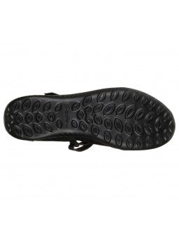 Comprar Mercedita Skechers Be Light Eyes On Me, modelo 23297, color negro BBK, vista suela