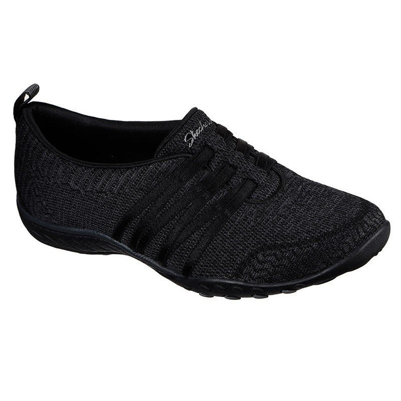 Comprar Online mocasín deportivo Skechers Relaxed Fit Breathe Easy, modelo 100000, color negro BLK