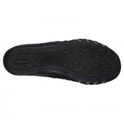 Comprar Online mocasín deportivo Skechers Relaxed Fit Breathe Easy, modelo 100000, color negro BLK, vista de la suela