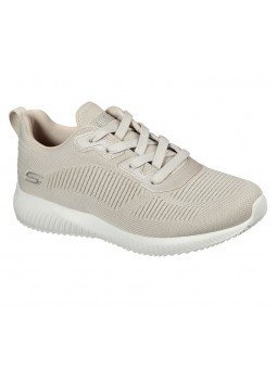 Comprar Online Zapatilla Skechers Sport Bobs Squad Tought Talk, modelo 32504, color natural NAT