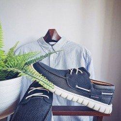 Comprar Náutico Skechers Classic Fit Moreway Barco, modelo 204040, color marino NVY, portada