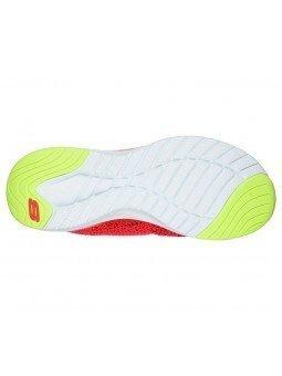 Comprar Online Zapatillas Skechers Ultra Groove, modelo 149019, color CRL coral, vista suela