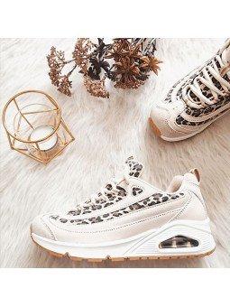 Comprar Online Zapatilla Skechers Street Los Angeles Uno Wild Streets modelo 73674 color blanco WHLD, portada