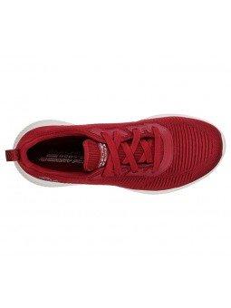 Comprar Online Skechers Sport Bobs Squad Tought Talk, modelo 32504, color rojo RED, vista aerea