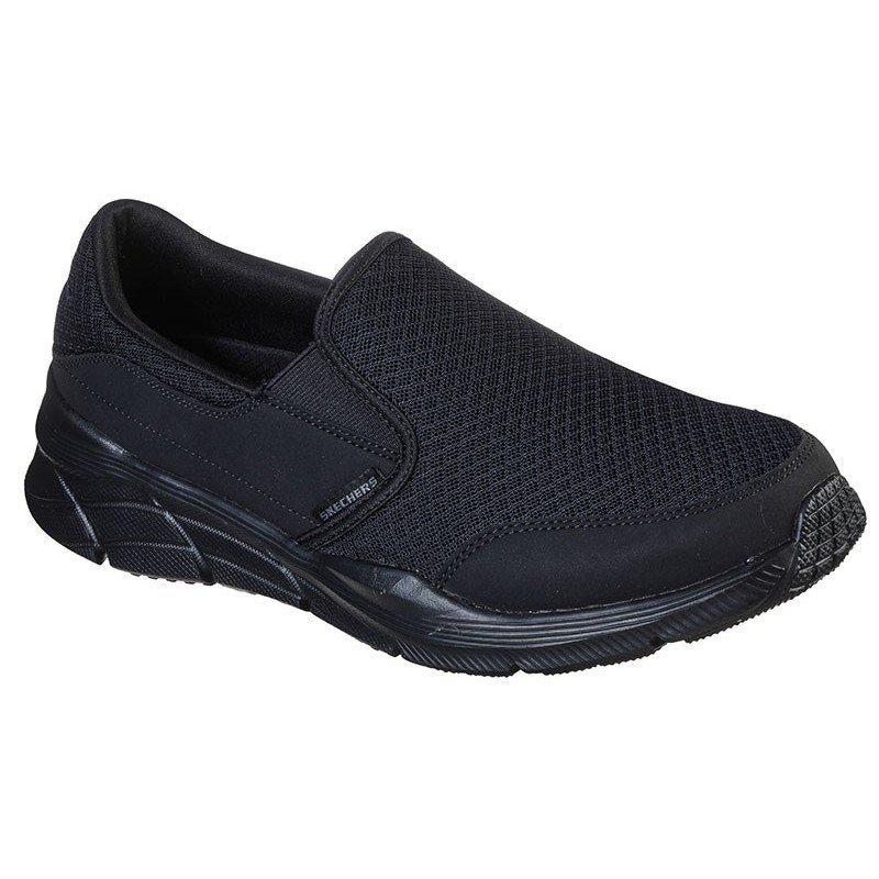 Comprar Online Mocasín Skechers Relaxed Fit Equalizer 4.0 Persisting, modelo 232017, color negro BBK, vista portada