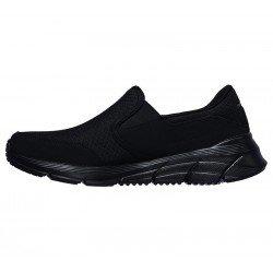 Comprar Online Mocasín Skechers Relaxed Fit Equalizer 4.0 Persisting, modelo 232017, color negro BBK, vista lateral interior