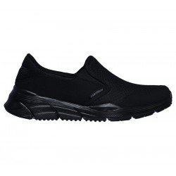 Comprar Online Mocasín Skechers Relaxed Fit Equalizer 4.0 Persisting, modelo 232017, color negro BBK, vista lateral exterior