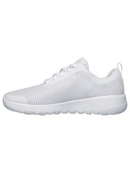 Comprar Online Zapatillas Skechers Performance Go Walk Joy Paradise, modelo 15601, color blanco WHT, vista lateral interior