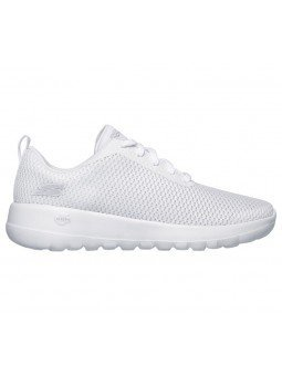 Comprar Online Zapatillas Skechers Performance Go Walk Joy Paradise, modelo 15601, color blanco WHT, vista lateral exterior