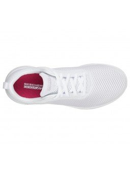 Comprar Online Zapatillas Skechers Performance Go Walk Joy Paradise, modelo 15601, color blanco WHT, vista aerea