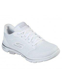 Comprar Online Zapatillas Skechers Go Walk 5 Lucky, modelo 15902, color blanco WHT