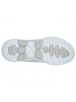 Comprar Online Zapatillas Skechers Go Walk 5 Lucky, modelo 15902, color blanco WHT, portada, vista suela