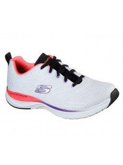 Comprar Online Zapatillas Skechers Ultra Groove Pure Vision, modelo 149022, blanco multicolor WMLT