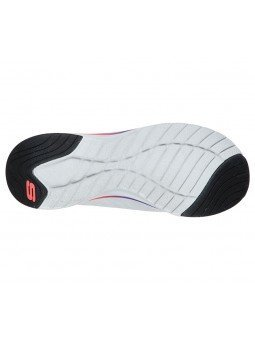Comprar Online Zapatillas Skechers Ultra Groove Pure Vision, modelo 149022, blanco multicolor WMLT, vista de la suela