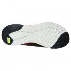 Comprar Online Zapatillas Skechers Ultra Groove Pure Vision, modelo 149022, multicolor BKMT, vista de la suela
