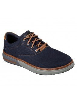 Comprar Online Zapatos casual Skechers Classic Fit Folten Verone, modelo 65370, color marino NVY