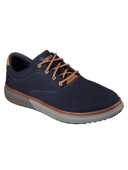 Comprar Online Zapatos casual Skechers Classic Fit Folten Verone, modelo 65370, color marino NVY