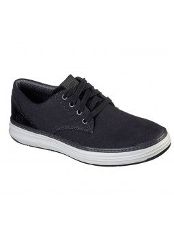 Comprar Online zapatos Skechers Classic Fit Moreno Ederson, modelo 65981, color negro BLK
