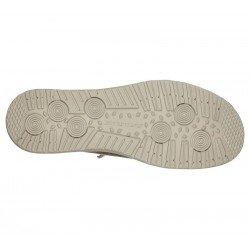 Comprar Online Zapatos Skechers Relaxed Fit Melson Raymon tipo mocasín, color caqui KHK, modelo 66387, vista de la suela