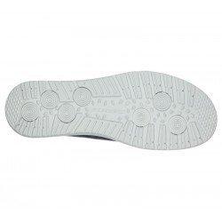 Comprar Online Zapatos Skechers Relaxed Fit Melson Raymon tipo mocasín, color azul BLU, modelo 66387, vista de la suela