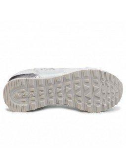Comprar Online Sneakers Skechers Originals OG 85, modelo 111, color blanco WSL, vista de la suela