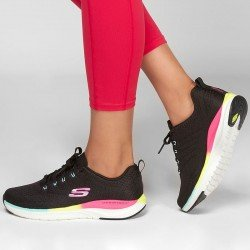 Comprar Online Zapatillas Skechers Ultra Groove Pure Vision, modelo 149022, multicolor BKMT, vista portada