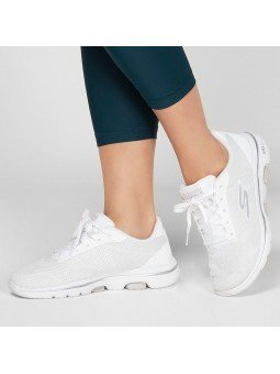 Comprar Online Zapatillas Skechers Go Walk 5 Lucky, modelo 15902, color blanco WHT, portada