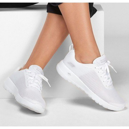 Comprar Online Zapatillas Skechers Performance Go Walk Joy Paradise, modelo 15601, color blanco WHT, vista portada