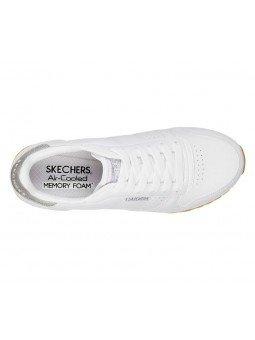 Comprar Online Zapatillas SKECHERS ORIGINALS Og 85, modelo 699, color blanco WHT, vista aerea