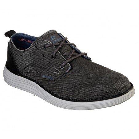 Comprar Online zapatos Skechers Classic Fit Status 2.0 Pexton, modelo 65910, color negro BLK