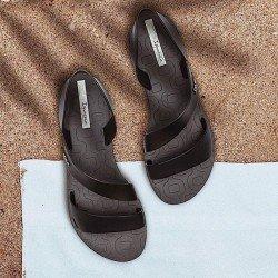 Comprar chanclas planas cojidas Ipanema Vibe Sandal Fem, modelo 82429, color negro, vista portada