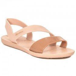 Comprar chanclas planas cojidas Ipanema Vibe Sandal Fem, modelo 82429, color rosa, vista lateral