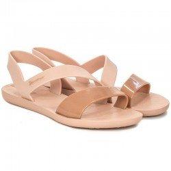 Comprar chanclas planas cojidas Ipanema Vibe Sandal Fem, modelo 82429, color rosa, vista duo