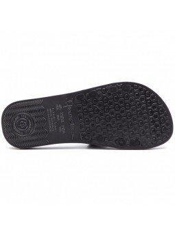 Comprar online chanclas planas de pala Ipanema, modelo 26223, color negro, vista de la suela