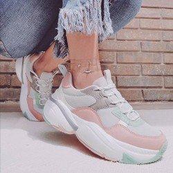 Comprar Online Sneaker Victoria con plataforma, modelo 147102, multicolor rosa, vista portada Instagram