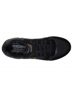 Comprar Online Sneakers Skechers Originals OG 85, modelo 111, color negro BLK, vista aerea