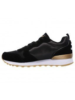 Comprar Online Sneakers Skechers Originals OG 85, modelo 111, color negro BLK, vista lateral interior