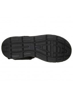 Comprar Sandalia Skechers relaxed fit relone senco, modelo 66067, color negro, vista de la suela