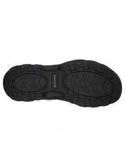 Comprar sandalias cerradas Graver Resano, modelo 66021, color blk negro, vista de la suela