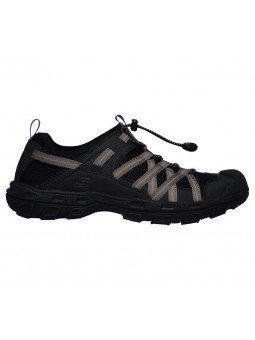 Comprar sandalias cerradas Graver Resano, modelo 66021, color blk negro, vista lateral exterior