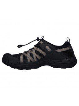 Comprar sandalias cerradas Graver Resano, modelo 66021, color blk negro, vista lateral interior