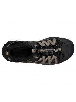 Comprar sandalias cerradas Graver Resano, modelo 66021, color blk negro, vista aerea