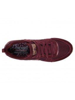 Comprar Online Sneakers Skechers Originals OG 85, modelo 111, color Burdeos BURG, vista aerea