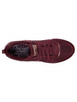 Comprar Online Sneakers Skechers Originals OG 85, modelo 111, color Burdeos BURG, vista aerea