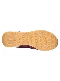Comprar Online Sneakers Skechers Originals OG 85, modelo 111, color Burdeos BURG, vista de la suela