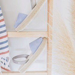 Comprar online Menorquinas ria menorca, modelo 21920-2-s2, color azul, vista portada