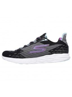 Skechers 14118 BKCC Go Run 5 lateral exterior